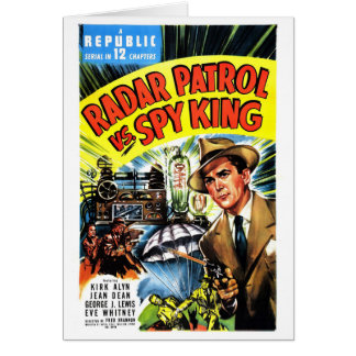 Radar Patrol Vs. Spy King Card