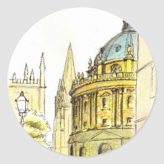 Radcliffe Camera original drawing Stickers
