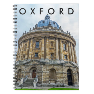 Radcliffe Camera, Oxford notebook