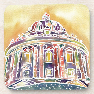 Radcliffe camera - watercolour painting coaster