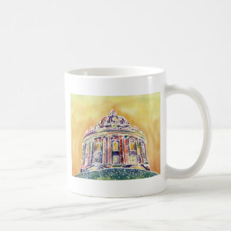 Radcliffe camera - watercolour painting coffee mug