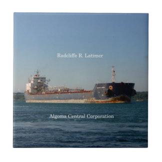 Radcliffe R. Latimer tile