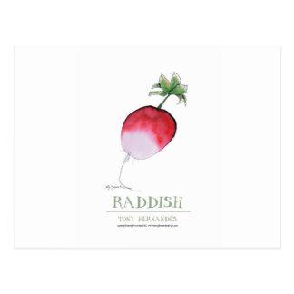 raddish, tony fernandes postcard