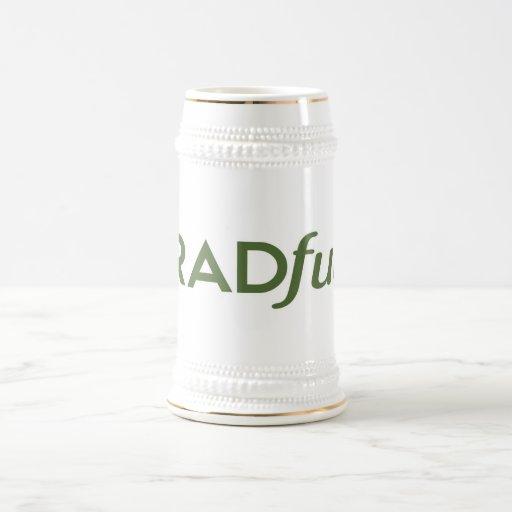 Radful Logo Beer Stein Mugs