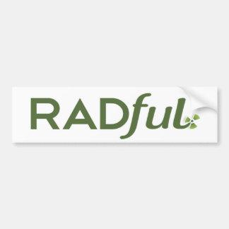 Radful Logo Bumper Sticker