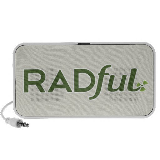 Radful Logo Customizable Doodle Speakers