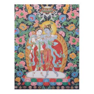 Radha-Krishna Postcard A