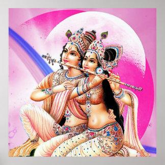 radha-krishna poster