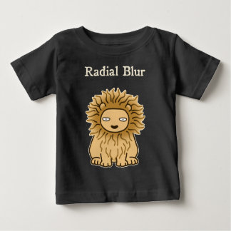 Radial Blur (color for dark) Baby T-Shirt