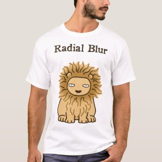 Radial Blur (color for dark) T-Shirt