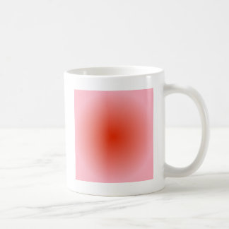 Radial Gradient - Pink and Red Coffee Mug