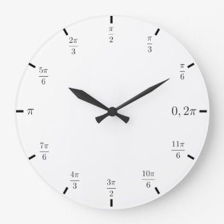 Radian Math Clock