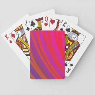 Radiance of Red Playing Cards