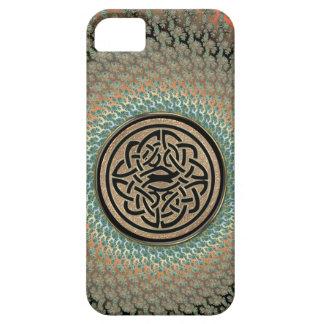 Radiant Autumn Fractal Celtic Shield Knot iPhone 5 Case