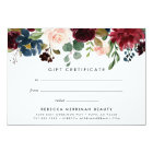 Radiant Bloom | Gift Certificate Card