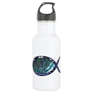 Radiant Christian Fish Symbol 532 Ml Water Bottle