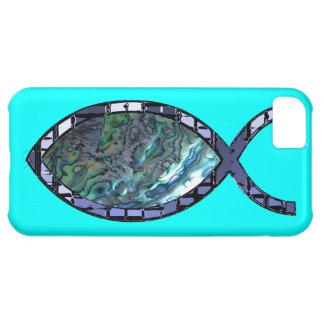 Radiant Christian Fish Symbol iPhone 5C Case