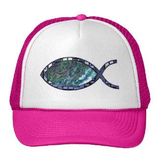 Radiant Christian Fish Symbol Hat