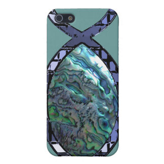 Radiant Christian Fish Symbol Cover For iPhone 5