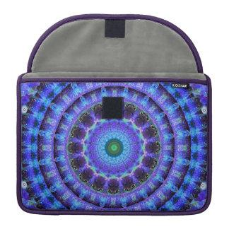 Radiant Core Mandala MacBook Pro Sleeves