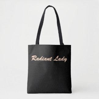 Radiant Lady Tote Bag
