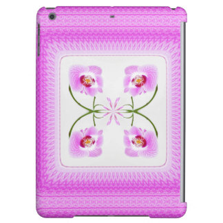 Radiant Orchid Closeup Square Kaleidoscope Pattern