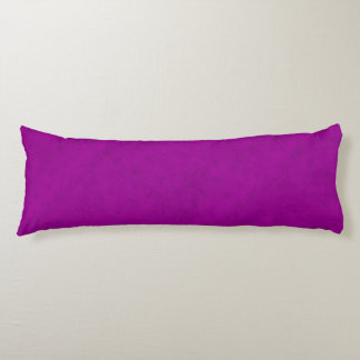 Radiant Orchid Purple Velvet Look Body Cushion
