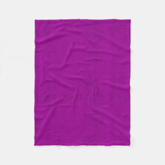 Radiant Orchid Purple Velvet Look Fleece Blanket
