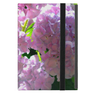Radiant Pink Hydrangea Cover For iPad Mini