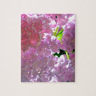 Radiant Pink hydrangeas Puzzle