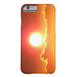 Radiant Red and Gold Hawaiian Sunset Barely There iPhone 6 Case
