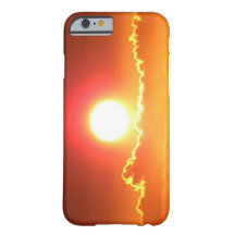 Radiant Red and Gold Hawaiian Sunset iPhone 6 Case