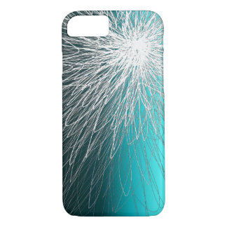 Radiant Reverse Aqua - Apple iPhone Case