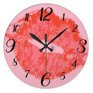 Radiant Revival Wall Clock- Pink Large Clock