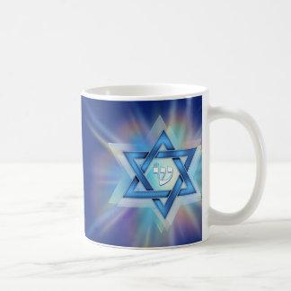 Radiant Star of David Coffee Mug
