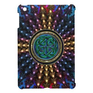 Radiant Sun Celtic Knot Mandala iPad Mini Cover