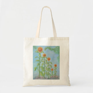 RADIANT SUNFLOWERS Tote bag