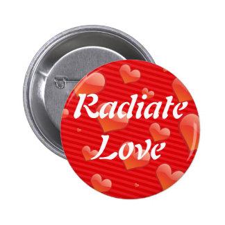 Radiate Love button