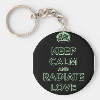 Radiate Love keychain