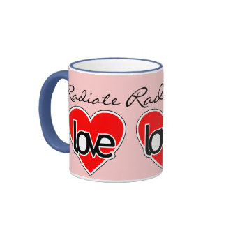 Radiate love mug