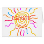 Radiate Love Sun Card