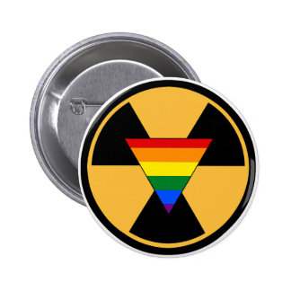 Radiate Your Pride! 6 Cm Round Badge