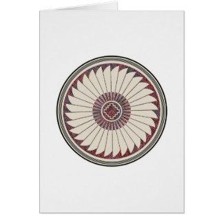 Radiating Feathers, Image 40 Card
