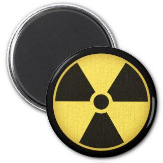 Radiation 1 6 cm round magnet
