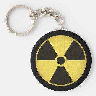 Radiation 1 basic round button key ring