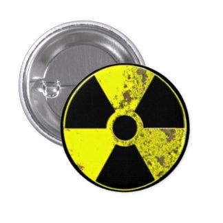Radiation 3 Cm Round Badge