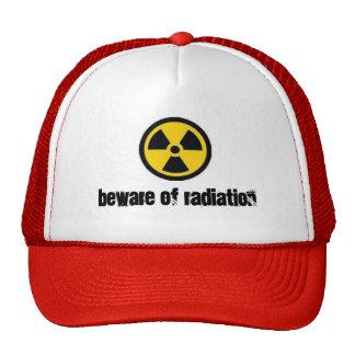 radiation, beware of radiation cap