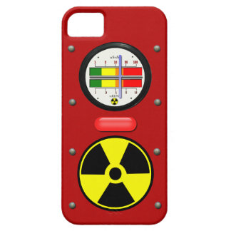 Radiation Geiger Counter Effect on iPhone 5 Case