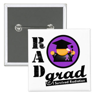 Radiation Grad GIST CANCER 15 Cm Square Badge