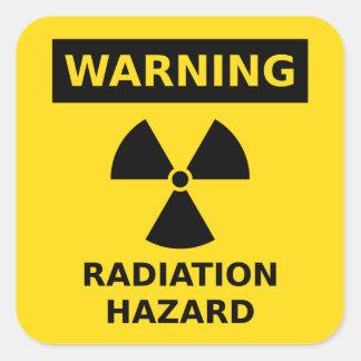 Radiation Hazard Sticker